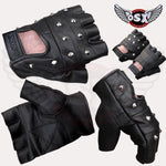 Leather Spike fingerles Glove Stud AC08/3