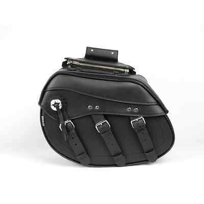 TEK LEATHER LUGGAGE SADDLE BAG AC36-TK
