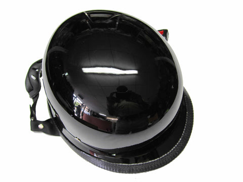 German Novelty Helmets Gloss Black AC56