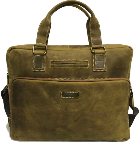 Tan Distressed Leather All Collections, Men, Messenger/Laptop bags 4974