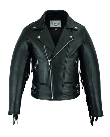 Maveric Patrol jacket with fringes - Western look for rockers and bikers 103