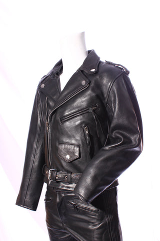 Kid's Leather Biker Brando jacket K113