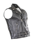 Brando Biker Cut-Off Leather Jacket 122