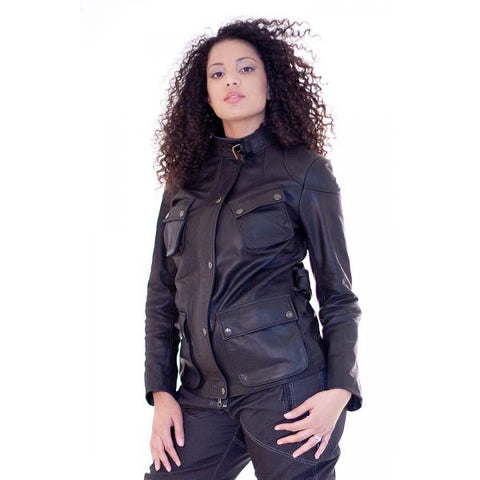 Motor Cycle Touring Leather Jacket Savana 193