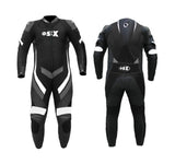 Motorcycle Leather One Piece Racing Suit M1 524