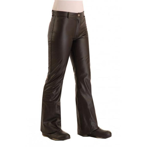 Boot-cut trousers front view
