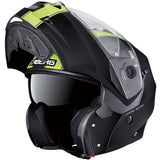 Caberg Duke II Legend Matt Black/Fluo [One (OSX) balaclava included with this product free of charge])