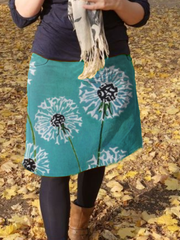 Plus size Printed Casual Skirts