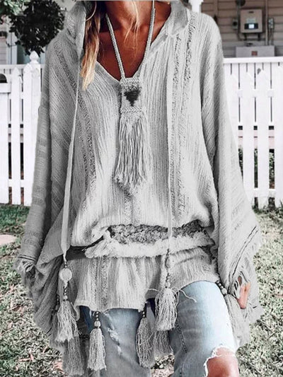 Long Sleeve Casual Blouses