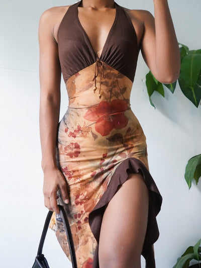 Printed Sexy Sheath Dresses