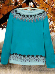 Cotton Round Neck Sweater
