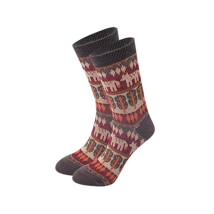 Floral Printed Women All Season Socks