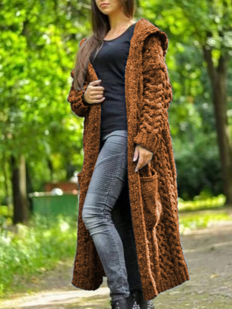 Knitted Casual Outerwear