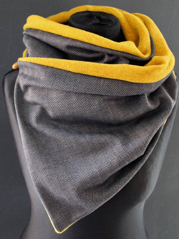Multicolor Casual Cotton-Blend Scarves & Shawls