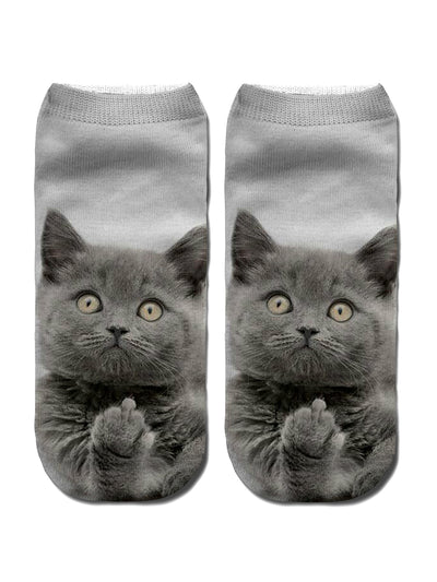 New Chic 3D Cat Socks