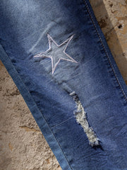 Casual washed jeans