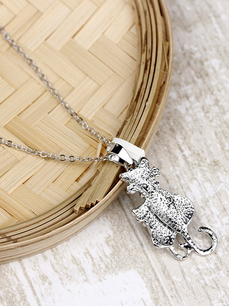 Silver Vintage Alloy Necklaces