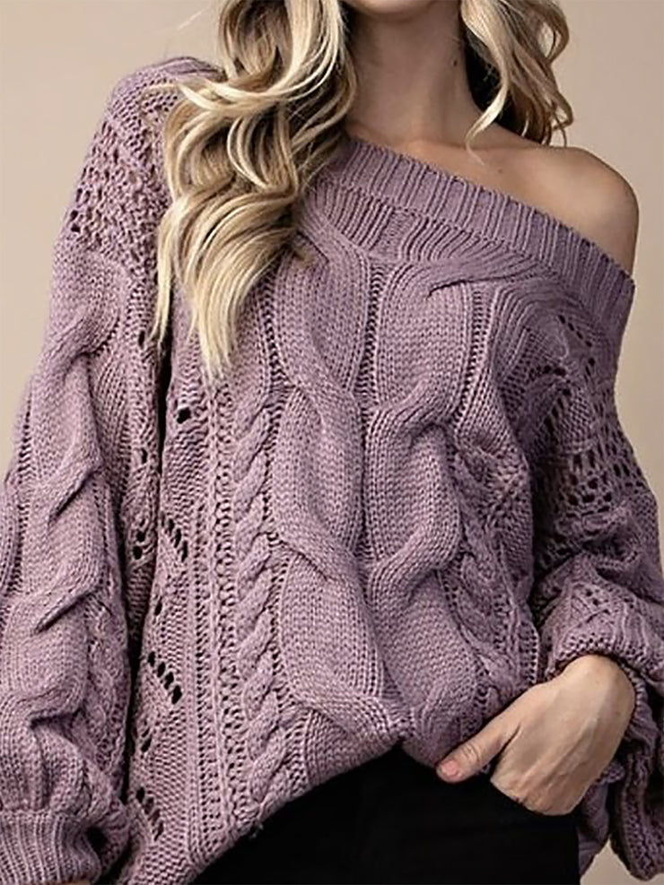 Casual Geometric Sweater