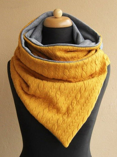 Casual Cotton-Blend Scarves & Shawls