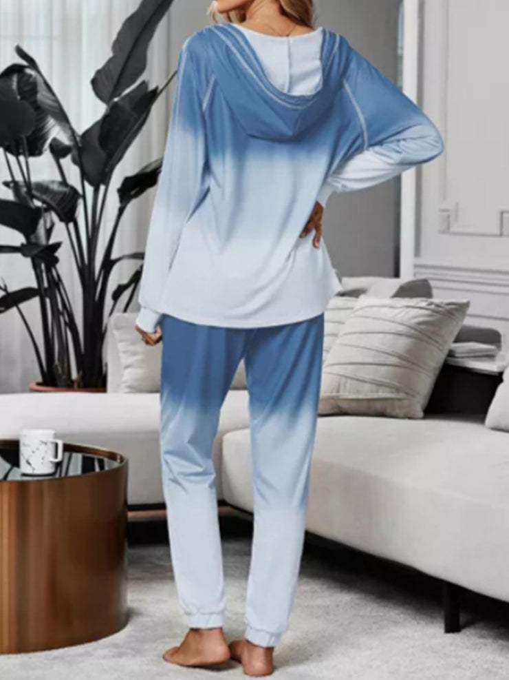 New Home Holiday Fashion Casual Plus Size Vintage Long Sleeve Sleepwear Loungewear Suits
