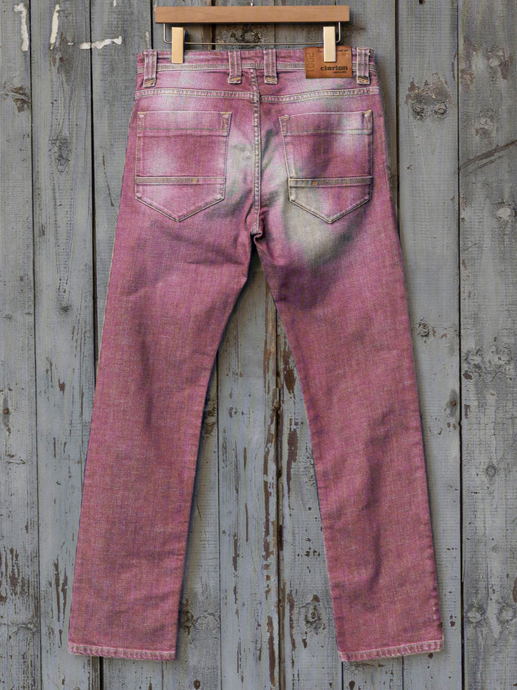 Casual loose denim trousers