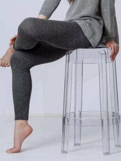 Plus size thick warm leggings