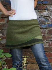 Plus size Cotton Casual Skirts