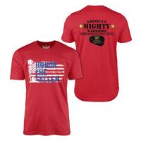 America's Mighty Warriors - Short Sleeve T-Shirt-Unisex Shirt-Ardent Patriot Apparel Co.