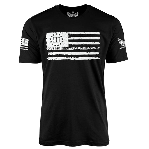 Give Me Liberty III% - Short Sleeve T-Shirt-Unisex Shirt-Ardent Patriot Apparel Co.