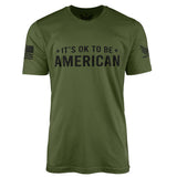 IT'S OK! - Short Sleeve T-Shirt-Unisex Shirt-Ardent Patriot Apparel Co.