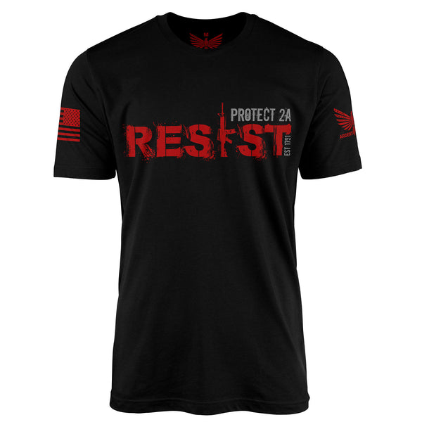 RESIST - Short Sleeve T-Shirt-Unisex Shirt-Ardent Patriot Apparel Co.