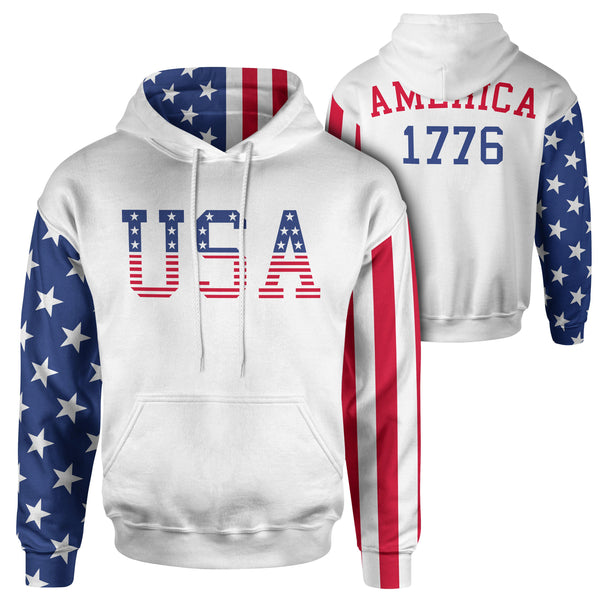 Team USA - Hoodie-Premium Hoodie-Ardent Patriot Apparel Co.