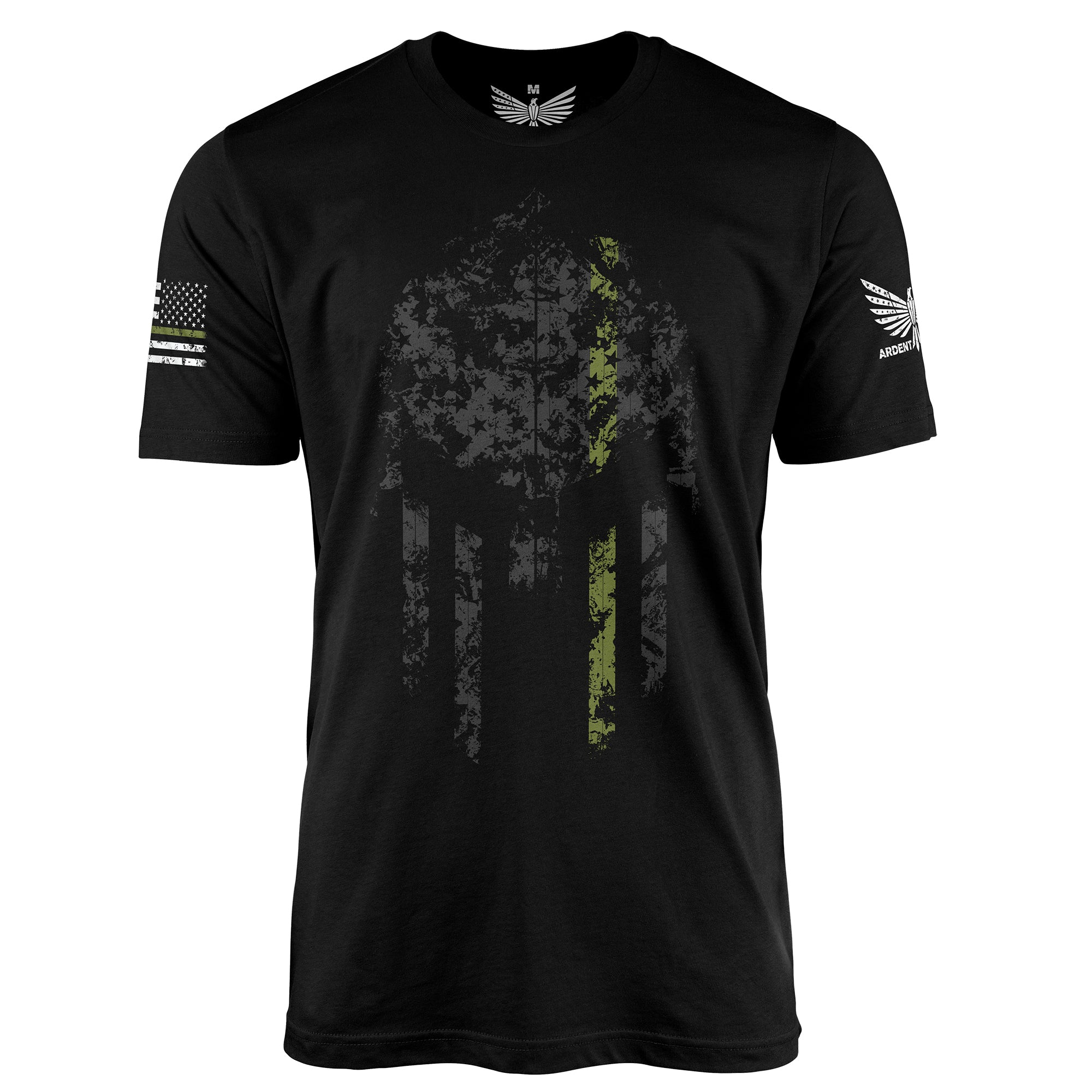 Thin Green Line Spartan-Men's Shirt-S-Ardent Patriot Apparel Co.
