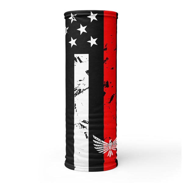 Thin Red Line - Face Shield