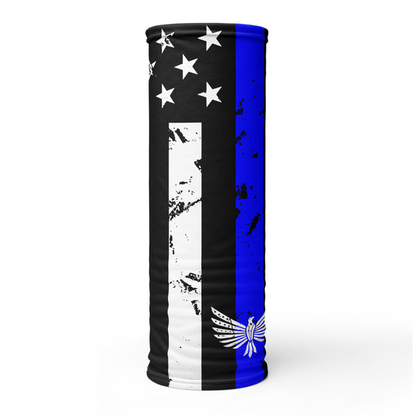 Thin Blue Line - Face Shield-Face Shield-Ardent Patriot Apparel Co.