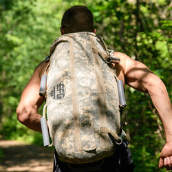 Rucking with the Elite Force Gear Wrecker training sandbag