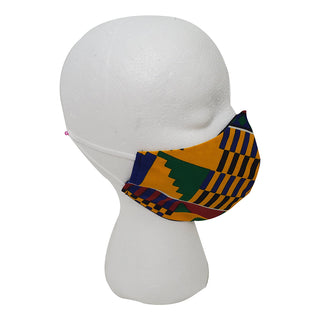 Kente First Face Mask - OJ Styles and Accessories