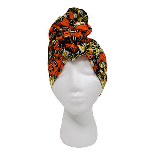 Orange Gate Open Crown Headwrap - OJ Styles and Accessories