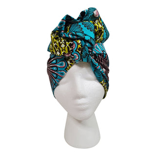 Teal Forest Open Crown Headwrap - OJ Styles and Accessories