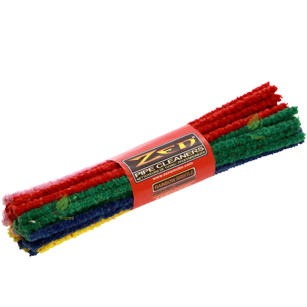 Zen Rainbow Hard Bristle Pipe Cleaners - 44 pack