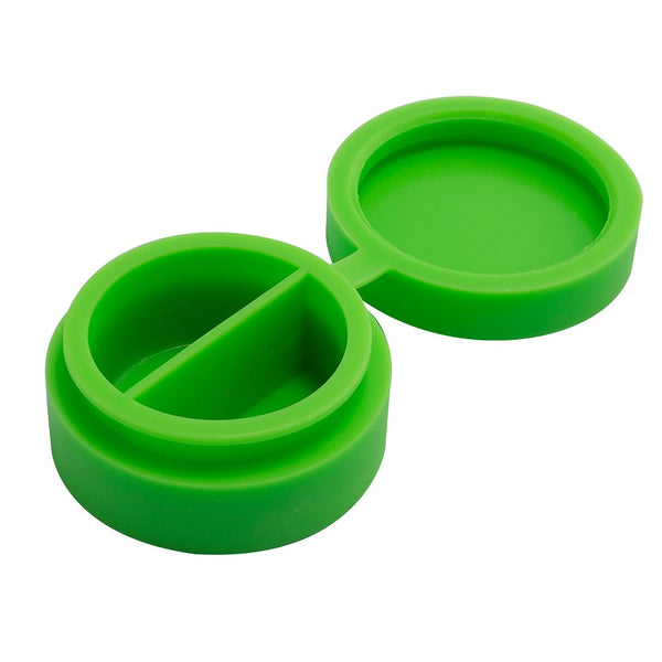 Dual Compartment Silicone Container