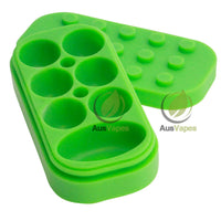 Multi-Compartment Silicone Stackable Container
