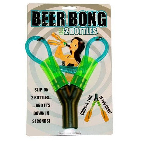 2 Bottle Head Rush Beer Bong