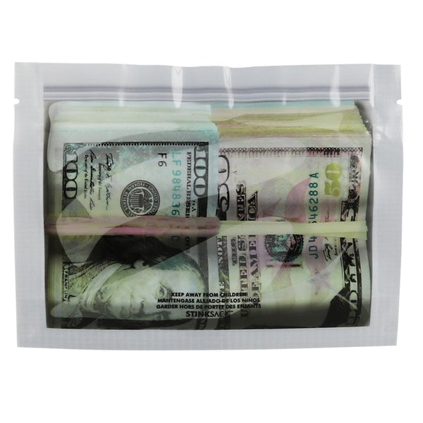 Stink Sack Money Bags Smell-Proof Storage Bags - Small