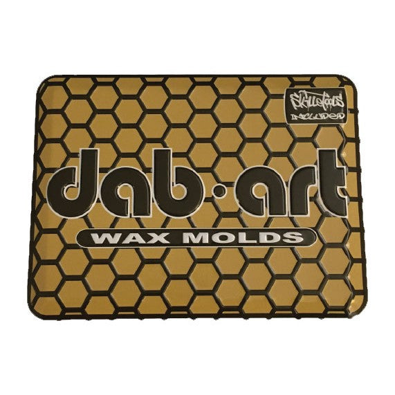 Dab Art Silicone Mold w- Skilletools & Tin
