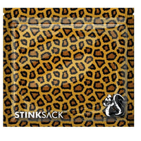 Stink Sack X-Small Smell Proof Storage Bags - Leopard Print