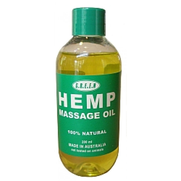 Hemp Massage Oil - 200ml