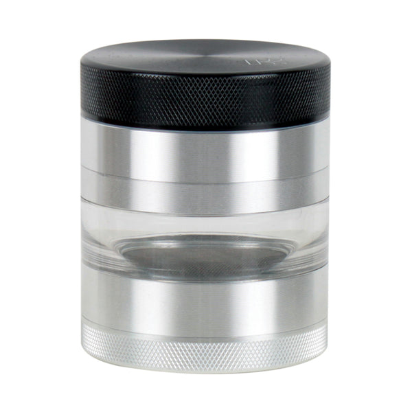 Kannastor 63mm SOLID TOP 4pc Grinder-Sifter-Jar