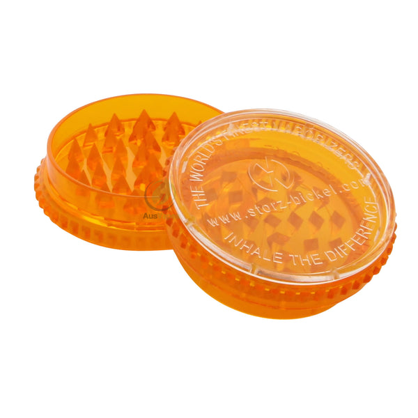 Volcano Acrylic Herb Grinder 55mm - 3 pc.