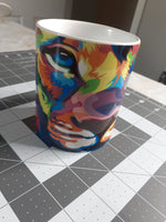 Load image into Gallery viewer, Thadeous The Colorful Lion - Tres Chic Loft, LLC - treschicloft.com